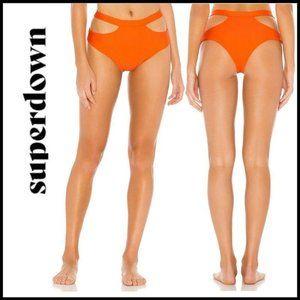 NWT SUPERDOWN Koral Bikini Bottom, Size Medium